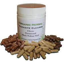 New Natural Organic Herbal Parasite Cleanse - Free pH Test Sticks With Order