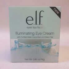 elf Illuminating Eye Cream with Purified Water Cucumber and Green Tea New In Box