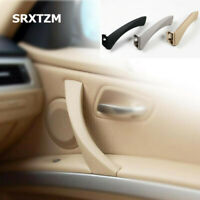 1 Set Left/Right Inner Door Panel Handle & Pull Trim Cover For BMW E90 3-Series