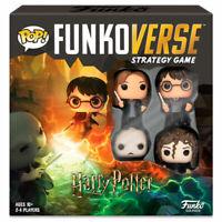 Harry Potter Juego mesa POP Funkoverse 4 figuras Hermione Voldemort Español toy