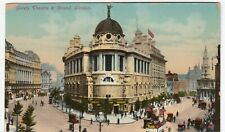 London; Gaiety Theatre & Strand PPC By Unposted, c 1910's, AF