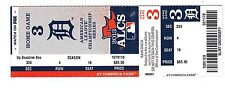 2013 BOSTON RED SOX VS DETROIT TIGERS PLAYOFFS ALCS GAME #5 TICKET STUB MINT