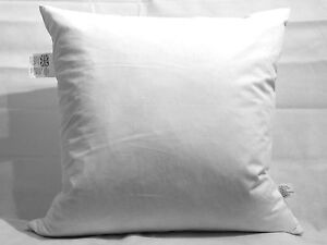 """20 X 8"""" X 8"""" (20cm X 20cm) Duck Feather Cushion Pad - Made In The UK"""