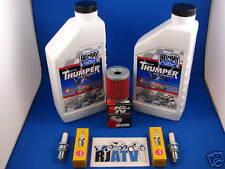 Suzuki LTF250 Quadrunner Oil Filter Spark Plug Tune Up