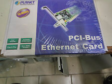 VINTAGE PLANET PCI BUS ETHERNET CARD  10 Mbps ENW-8300 BNC / RJ45 NEW