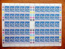 SOLOMON ISLANDS Wholesale 1987 Xmas Orchid 18c SG602 Sheet of 50 FP2521