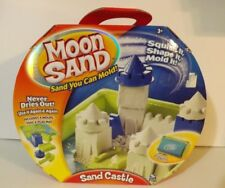 New Spin Master Moon Sand Sand Castle Play Set Sand You Can Mold Never Dry BNIB