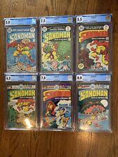 Sandman Full CGC Run #1, 2, 3, 4, 5, 6 Jack Kirby DC Comics
