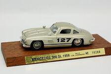 Solido 1/43 - Mercedes 300 SL Rallye Lyon Charbonnières 1958 N°127