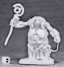 Reaper Miniatures Ogre Matriarch#77568 Bones Unpainted Plastic RPG Mini Figure