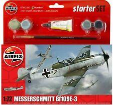 Airfix A55106 1:72nd Scale Messerschmitt BF109E-3 Starter Set.