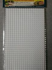 "Jtt Plastic Pattern Sheets G Scale Spanish Tile 7.5""x12"" 2-Pack #97436 ~ Ts"