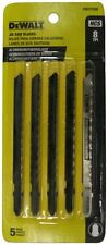 DEWALT DW3755H 4-Inch 8 TPI Aluminum/Fiberglass Cut HCS T-Shank Jig Saw Blade