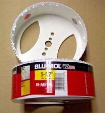 """5-1/2"""" Blu Mol Hole Saw Bit , Bi-Metal ---  BMS"""