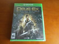 Deus Ex: Mankind Divided -- Day One Edition (Microsoft Xbox One, 2016) Brand New