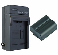CGA-S006A Battery + Charger for Panasonic Lumix DMC-FZ28, FZ7, FZ8, FZ50