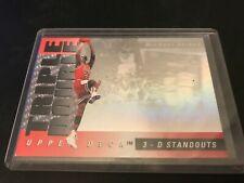 1993-94 UPPER DECK TRIPLE DOUBLE 3-D STANDOUTS MICHAEL JORDAN CHICAGO BULLS #TD2