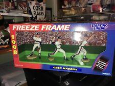 Greg Maddux Atlanta Braves 1998 Kenner Starting Lineup 3 Figure Set IB
