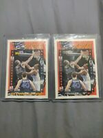 1993 Topps #3 Shaquille Shaq O'Neal Base and gold Highlight ROY