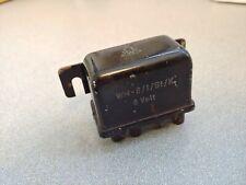 USED ORIGINAL PORSCHE 356A 356B 356C 356SC 6V WEHRLE HEADLIGHT HORN RELAY BLACK