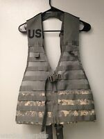 U.S Army / ACU Digital  CAMO FLC Molle Vest Combat Carrier Tactical Load LBV USA