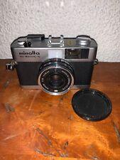 VTG Film Camera Minolta Hi-Matic G Rokkor 1:2.8 f=38mm Made in Japan 35mm