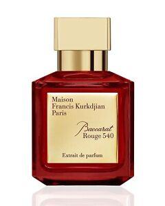 Maison Francis Kurkdjian Baccarat Rouge  540 Extrait de Parfum New With Box