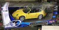MAISTO SPECIAL EDITION PORSCHE 911 CARRERA S CABRIOLET 1/18