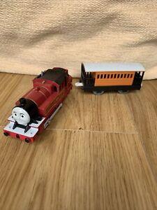 Tomy Trackmaster Thomas The Tank Engine Battery Train Arthur LMS & Coach