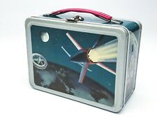 Vintage Thermos Brand Lunchbox, Rocket on Moon Space Collectible Lunch Box