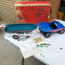 Mattel Vintage BIG JIM Boat 'N Buggy Set No. 8890