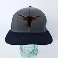 Texas Longhorns Top Of The World Burnt Orange Black Gray 6 7/8 to 7 1/4 Hat