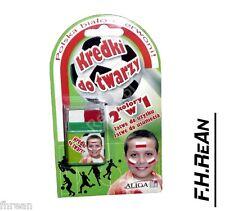 Farbki kredki do Twarzy Barwy Polski Face Paint Polish Poland