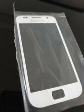 Samsung Galaxy S i9000 pantalla vidrio frontal disco Glass blanco White