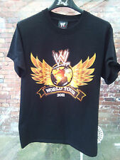 WW World Wrestling Entertainment World Tour 2011, j'étais là T-Shirt Noir S très bon état