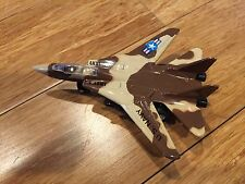 Super Fighter  F-18  Die Cast Metal Toy Brown Camo new