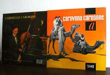 """RENATO CAROSONE e il suo sestetto  LOTTO 2 X 33 GIRI -  LP 10""""  ANNI 50'S ITALY"""