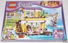 LEGO Friends STEPHANIES's BEACH HOUSE 41037 Kate RETIRED windsurfer