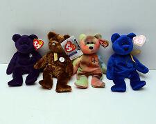 Beanie Babies TY Fifa World Cup 2002 Korea Japan Princess Peace 1996 & Unity lot