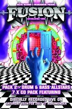 Fusion – 25th Feb 2017 – Drum & Bass Pack   (fusioncd008)