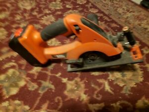 Black And Decker Fire Storm 18v circular Saw with battery NO charger WORKS