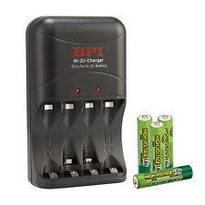4×Nizn 1.6V 900mah AAA Battery GENIX With PowerGenix ZR-PGX1HRAA-4B Charger Set