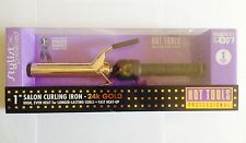 Hot tools Professional Salon Curling Iron 24K Gold 1 Inch-model#1181