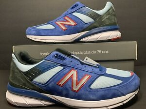 New Balance Men's US Size 11.5 Made in the USA 990v5 Shoe Andromeda Blue M990NC5