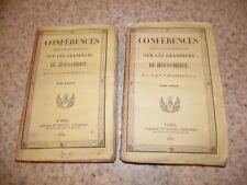 1841.Conférences sur grandeurs de Jésus Christ.2/2.d'Argentan