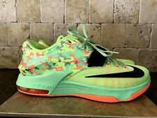 NIKE KD 7  VII SIZE 11.5 MEN'S SHOES AUTHENTIC  EASTER 653996 304 VIPER GREEN