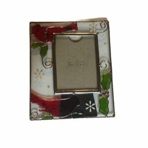 Cardinal picture glass picture frame.