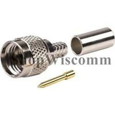 Larsen - Mini-UHF Male Crimp for RG58 -- Connector Type Mini UHF Mini-UHF