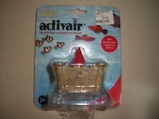 New listing Air-Actuated ActivAir Castle Aquarium Ornament Fish Tank Ornament Movement, New