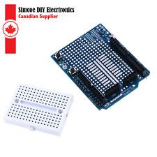Arduino Uno Prototype Shield With Mini Breadboard #024